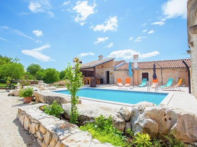 Photo for Stone holiday house for up to 5 persons with private pool and whirlpool