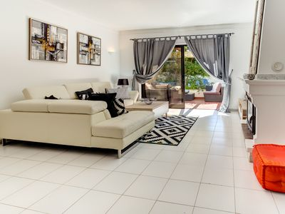 Photo for Falesia Beach Santa Maria 2 bedroom TownHouse (F), Shared Pool & Garden nr Beach