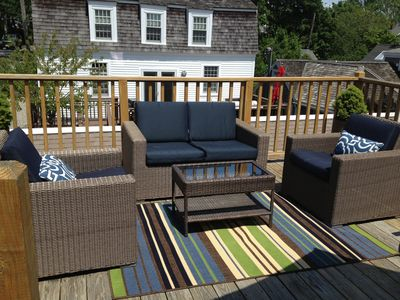 Photo for In Town w/parking 3 Beds,Sleeps 4, Exclusive Sunny Deck