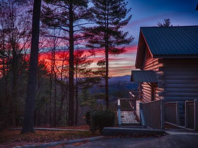 Photo for Enjoy a spectacular view while being only 10 minutes from downtown Blue Ridge