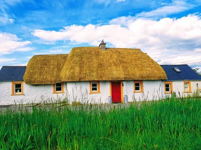 Photo for Traditional Irish Thatch Cottage -for a relaxing, charming and tranquil stay