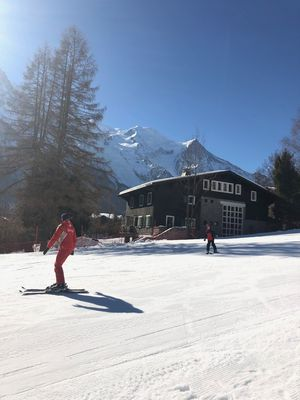Photo for Rare ski chalet in Chamonix-center Ground floor 6 pers