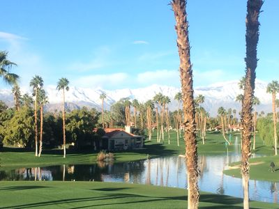 Photo for Newly Remodeled Palm Valley Condo, Golf Course And Mountain Views