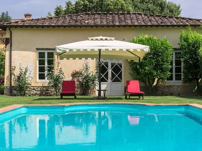 Photo for Luxury Villa for 26 people 6 km from Lucca. 11 frescoed bedrooms with bathroom