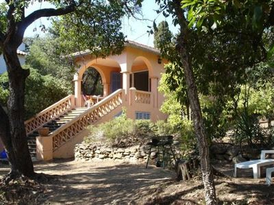 Photo for Villa in a wooded park 150 m from the beach of Canadel