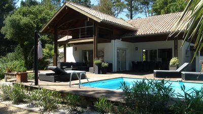 Photo for Charm and relaxation on the edge of the Landes forest, beach 3km, 3 bedrooms 6/8 p