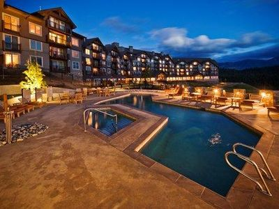 Photo for Suncadia Resort - Studio Condo In The Lodge - Walk Out Unit To Pool & Hot Tub