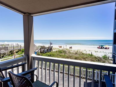 Photo for Summer Dream!  Oceanfront 2 Bedroom - Free Water Park, Aquarium, Golf & More Every Day! CCII105