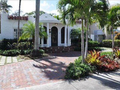 Front of House Circular Driveway Right Off Las Olas Blvd.