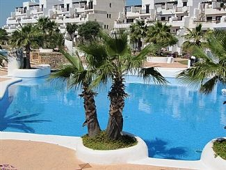 Landscaped gardens and pools