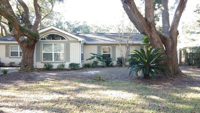 Photo for Private Pool 4 Bedroom 2 Bathroom walk to beach home!