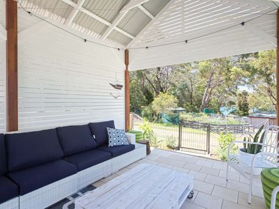 Photo for 'Little Beach House' 4 James Crescent - Little Beach with air con, WiFi and boat parking!