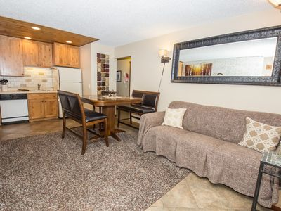 Photo for STYLISH 2 BEDROOM, 1 BATH CONDO IN FRASER - INDOOR POOL & ON SHUTTLE ROUTE