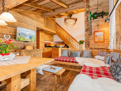 Photo for Luxury 4-8 persons apartment with pine room