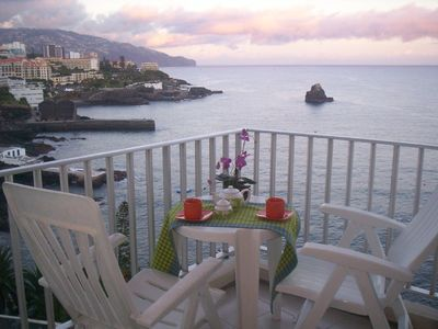 Photo for Romantic ocean front apartment with breathtaking views