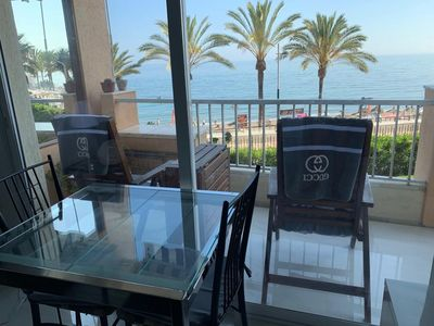 Photo for First line beach apartment Diana Marbella