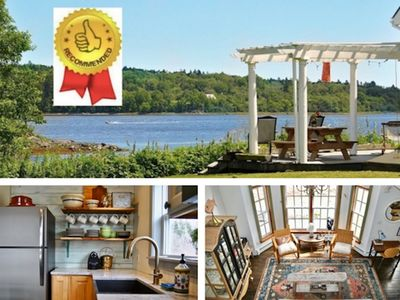 Photo for Private. Waterfront Machias Bay. Renovated. One of a Kind Romantic Retreat.