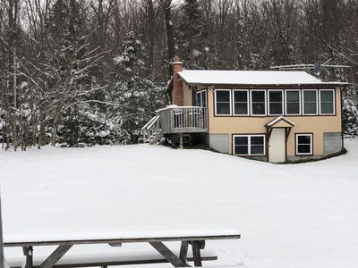 Photo for 1 Bedroom Updated camp on Secluded Holland Pond