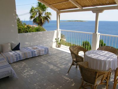Photo for Tastefully decorated coastal house with two large terraces and lush garden.