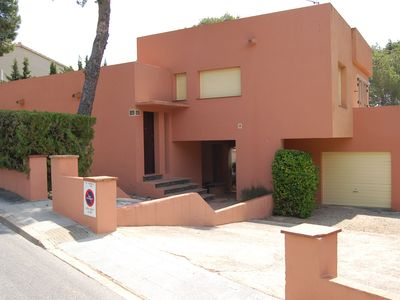 Photo for Large detached house with garden situated less than 100 meters from La Farella beach and o