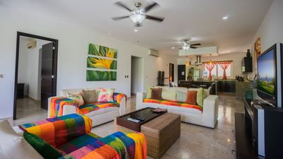 Photo for Deluxe condo homes right at Mamitas Beach!