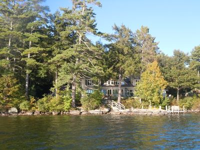 Photo for Six Bedroom Waterfront Home on Lake Winnepesaukee in NH