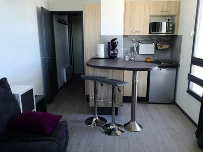 Photo for Residence Le Pleynet - Studio Cabin 4 People Roches Noires