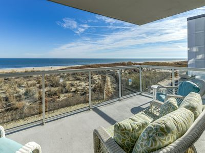 Photo for Luxury Oceanfront w/ Rooftop Pool & Stunning Views (60th St)!