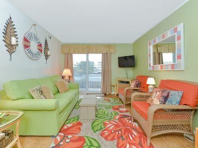 Photo for Lovely 2 Bedroom 2 Bathroom Ocean Block Condo with Outdoor Pool on 55th Street!