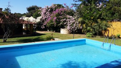 Photo for Farm with swimming pool, barbecue and leisure area