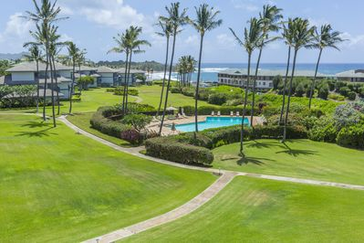 Enjoy the breathtaking ocean views from the lanai!