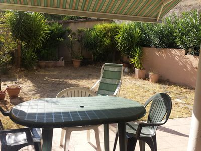 Photo for Aubagne Rental. Atypical apartment with fenced garden of 200 m2, parking.