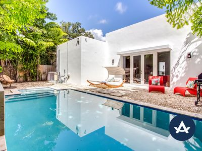 Photo for Sextant's Biscayne Residence II—Heated Pool Hot Tub 10 minutes to South Beach
