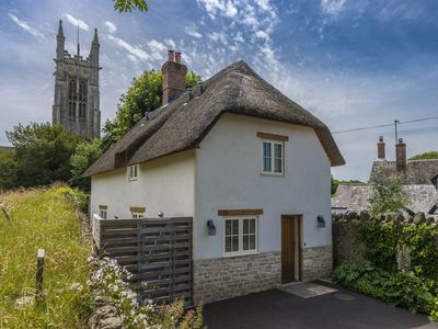 Photo for An idyllic and charming thatched cottage beautifully furnished and presented.