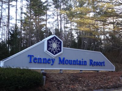 Photo for Slope Side Tenney Mt Condo, Sleeps 7