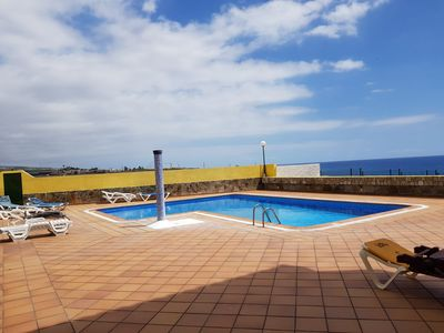 Photo for Playa Arena, 50m from the sea, pool, Best seaview, airconditioning, wifi