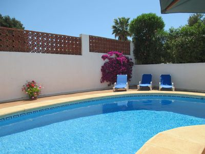 Photo for Romantic Villa Sleeping 2 In 1 Air Conditioned Bedroom  Private Pool & Garden