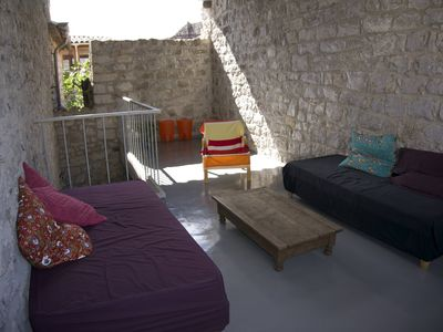 Photo for HOLIDAY RENTAL 8 PERS -MATH HOUSE OF CHARACTER- PONT D'ARC PROMOTION JULY
