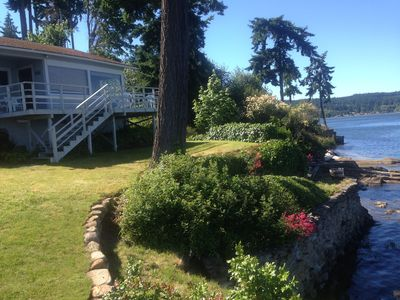 Photo for Beach cottage on West Puget Sound