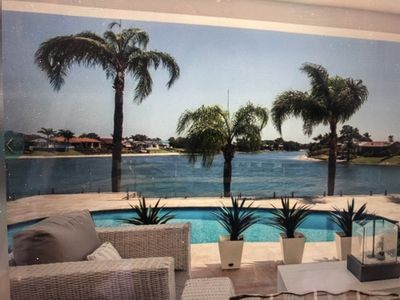 Photo for Water Front Point Positioned House & Pool Walk To Restaurants, Cafes & Beach