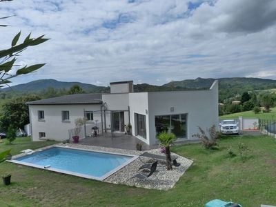 Photo for Very nice modern villa near the town of Foix Pool and SPA