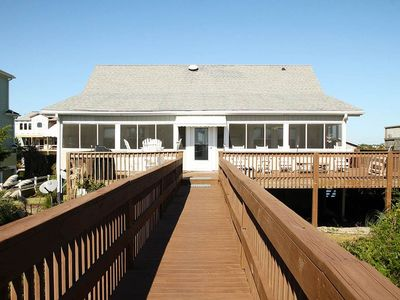 Photo for Kick Back Cottage: 4 BR / 2.5 BA home in Caswell Beach, Sleeps 16