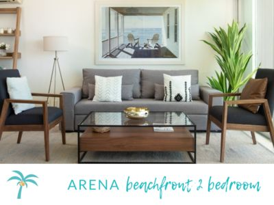 *ARENA Beachfront 2 BDR- Top Design*