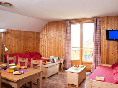 Photo for The Chalets du Berger *** - 3 Rooms 8 people Duplex + Coin Mountain