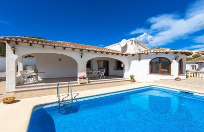 Photo for ERITA, fully equipped villa in Calp, for 6 guests free wifi
