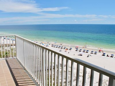 Photo for DIRECT GULF FRONT UNIT,INCREDIBLE BEACHES, GREAT AMENITIES, CLOSE TO ORANGE BEACH ACTIVITIES