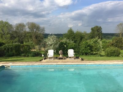 Photo for Suite Overlooking Beautiful Wealden Countryside, Swimming Pool. (See offers )