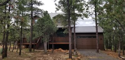 Photo for Charming Heber Cabin- backs to National Forest!