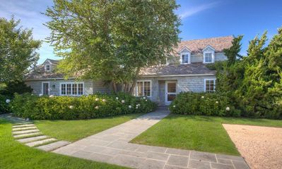 Photo for Remarkable Bridgehampton Beach house just minutes to private beach