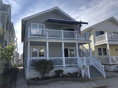 Photo for Southend Lower level 3 BR 2 Bath just 250 steps to beach